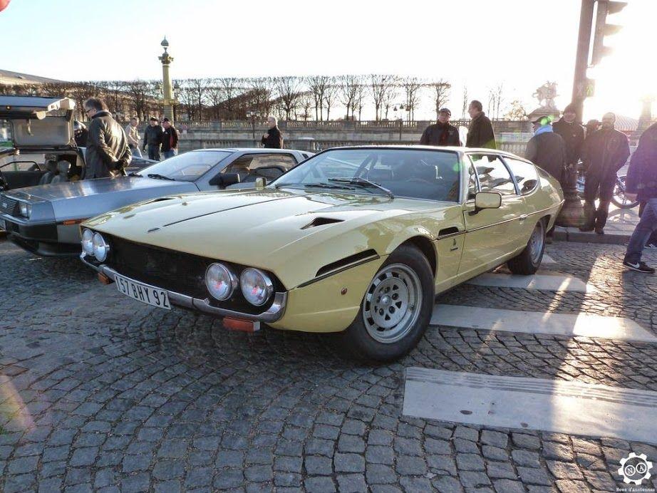 Lamborghini Espada Par News d'Anciennes à la Traversée de Paris http://www.newsdanciennes.com