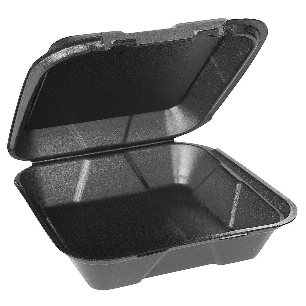 Genpak Snap It Vented Hinged Food Containers 3 H X 9 1 4 W X 9 1