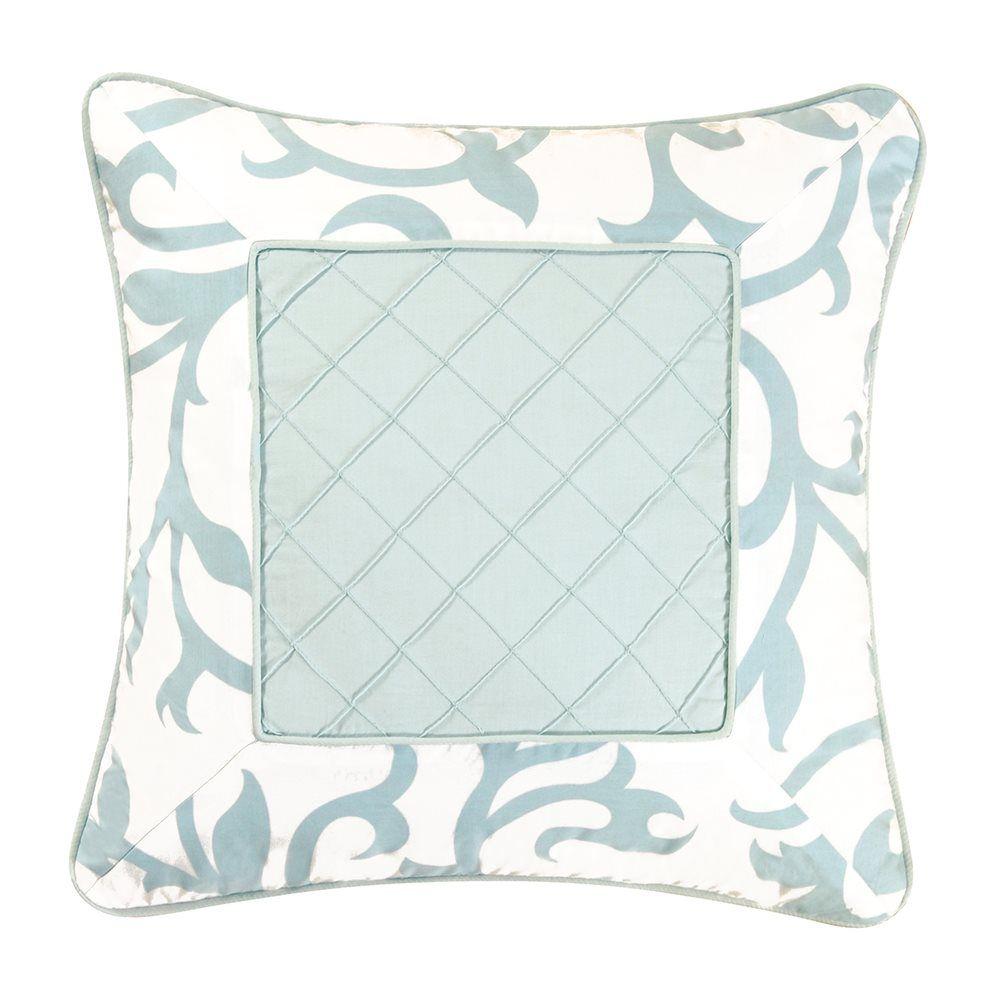 42 00 C F Enterprises 89649b 18x18 Serendipity Blue Decorative Pillow Atg S