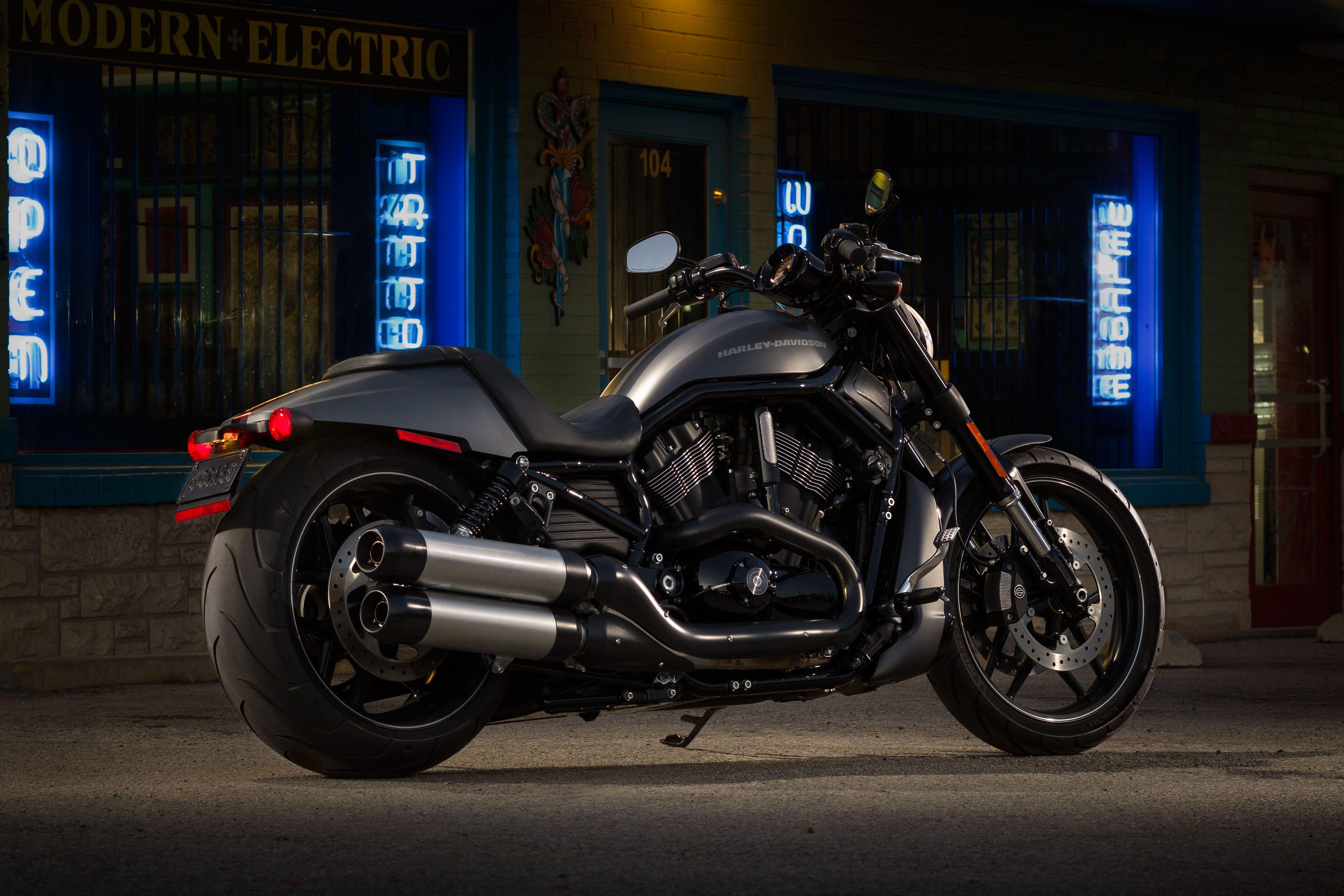 Harley Davidson V Rod Night Rod Special Pin Pa Mt4p