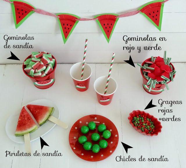 Celebra con Ana: ♥ Fiesta Sandía (Sandi-Fiesta)