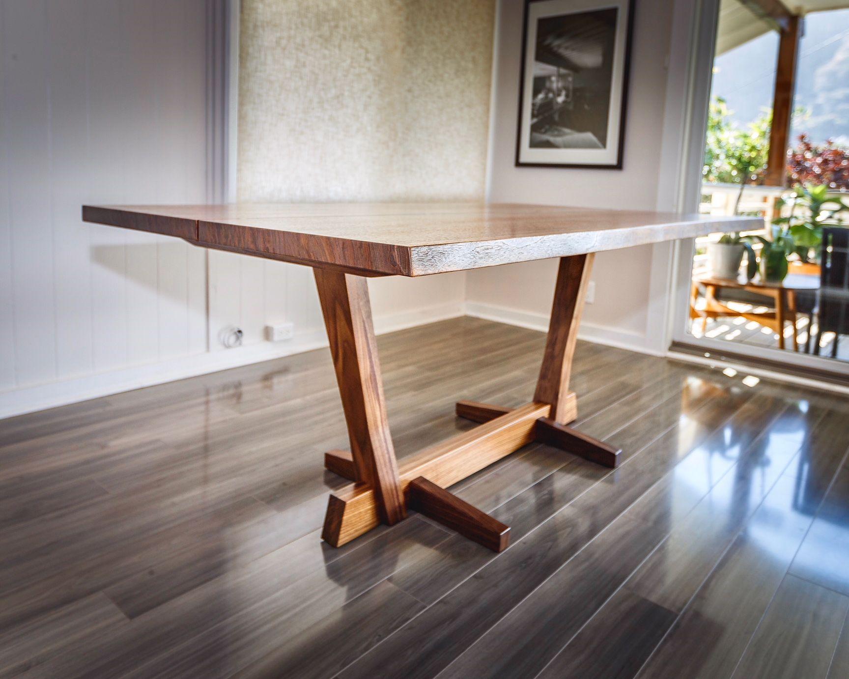 Walntu Slab Dining Table Made By Satoshi Yamauchi Slab Dining