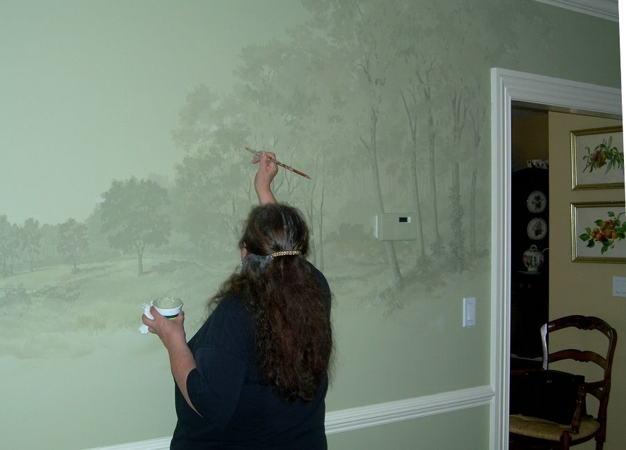 Pin On Wall Murals And Paint Techniques