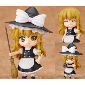 TouHou Project Kirisame Marisa Cosplay Cosplay Hold Plush Doll Toys Cute