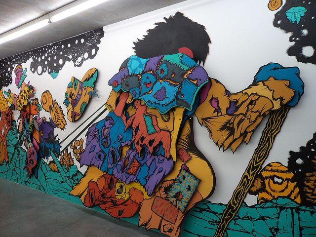Expo Stratos. Revue collection. Centre d'art contemporain de Lacoux. été 2012 by Ludovic Boulard Le Fur, via Flickr