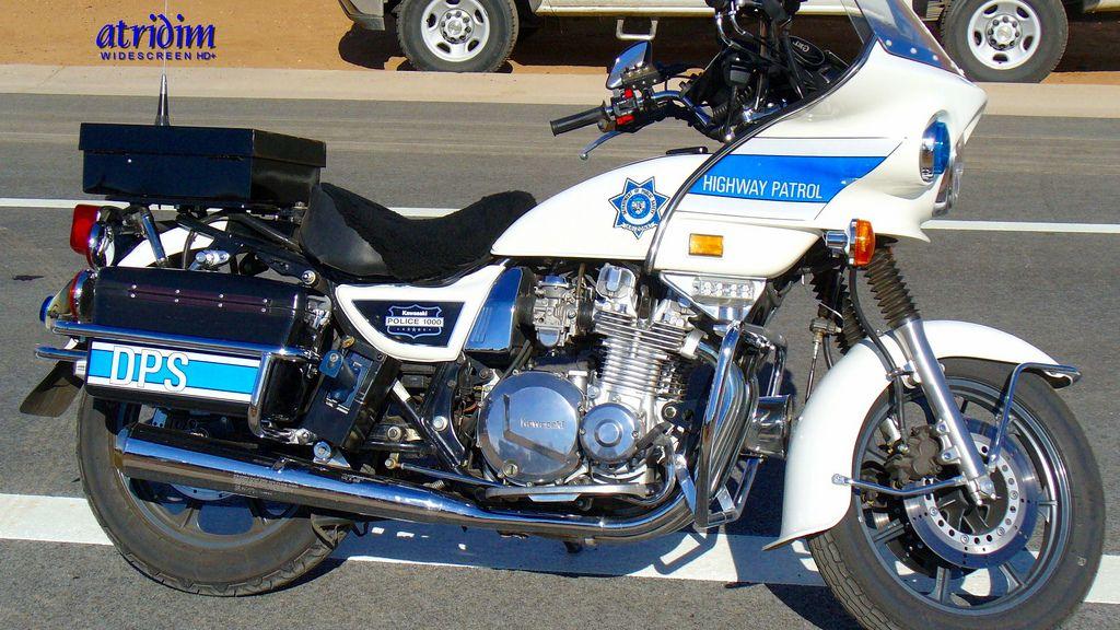 Arizona Highway Patrol Kawasaki 1000 Police Motorcycle  Police