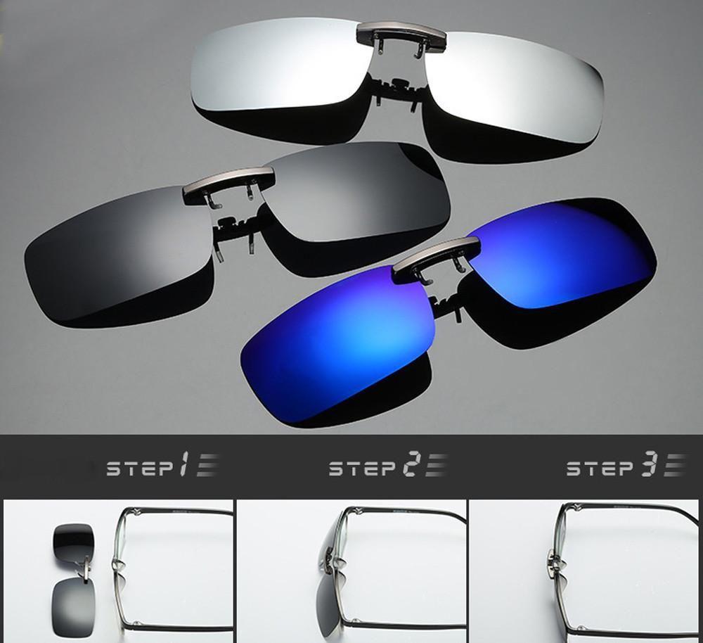 Detachable Night Vision Lens Driving Metal Polarized Clip