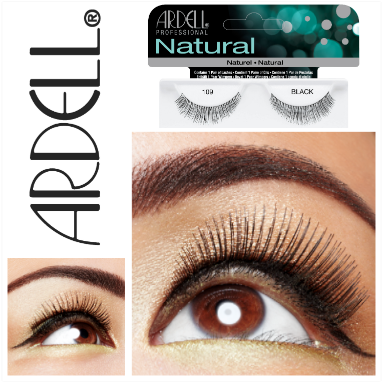3910c408745 Add a little flair to any natural day look with Ardell #109 lashes. A  perfect fit for women who have small or round eye shapes. #Ardell # ArdellLashes ...