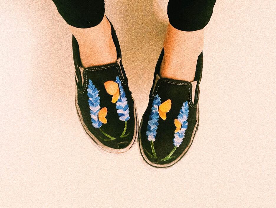 8d1e4c93b05728  painted  vans  vsco  tumblr  vintage  art  inspirational  quotes  shoes   aesthetic