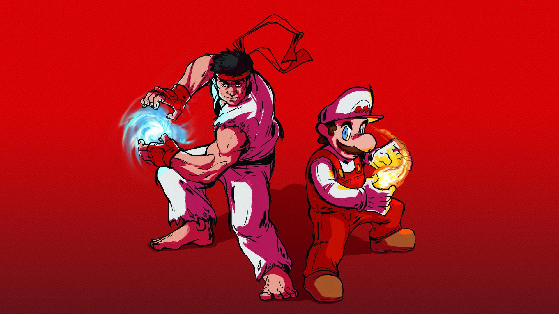 Mario and Ryu dubs team! 1920 x 1080 Need iPhone 6S