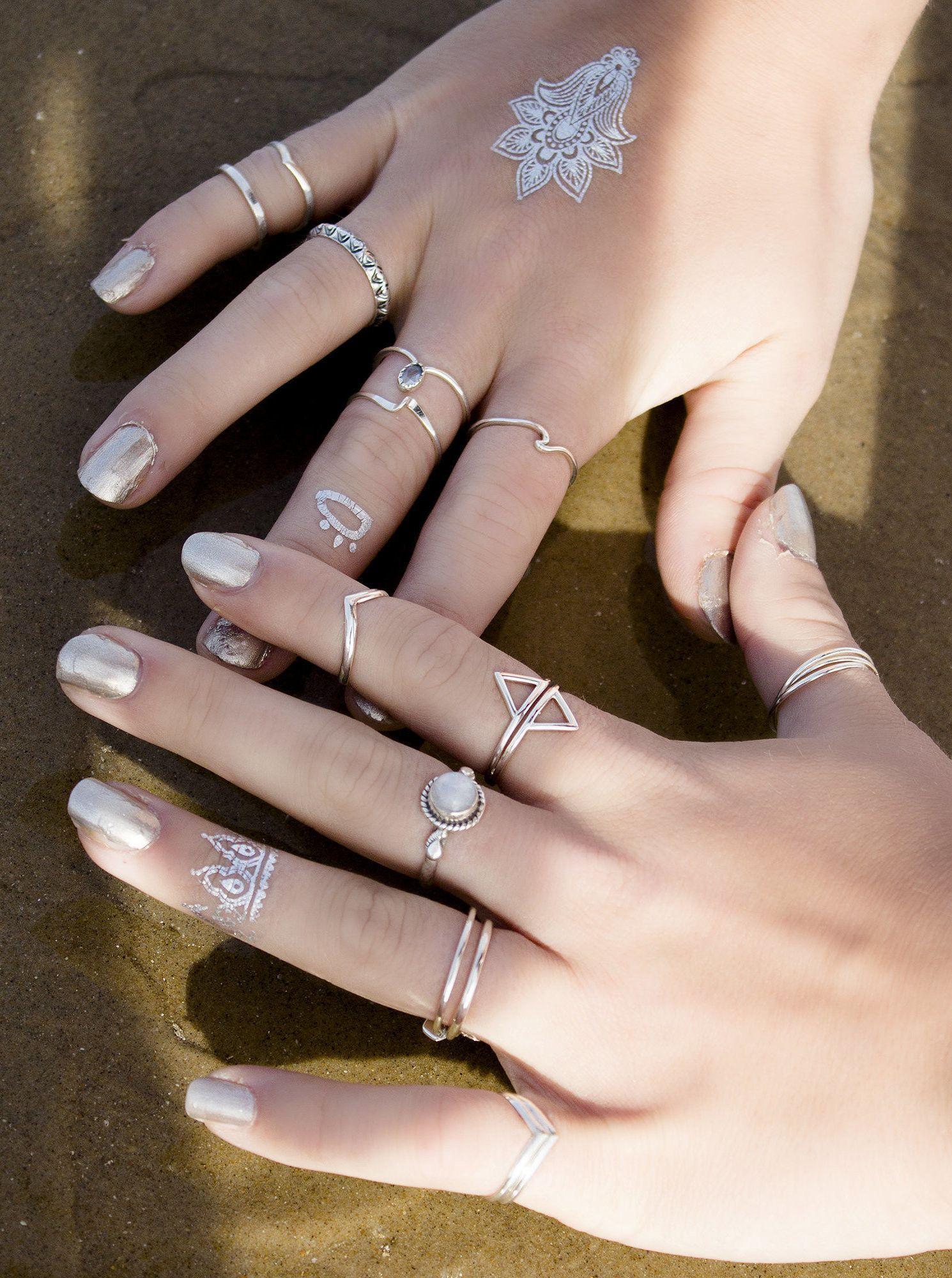 twin elements ring boholake mystic rings