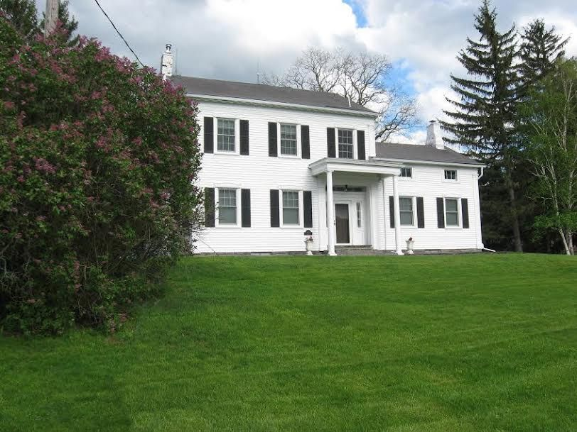 House Of The Week Colonial In Guilderland American FarmhouseMantleDining AreaBeams18th CenturySquare