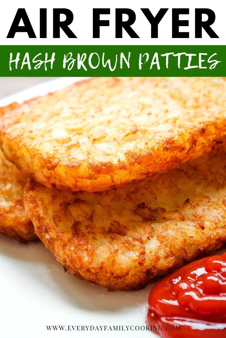 Easy Air Fryer Breakfast Patties in 2020 Family cooking