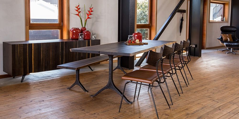 The Wishbone Dining Table By Square Roots And Available From Hunter Furniture
