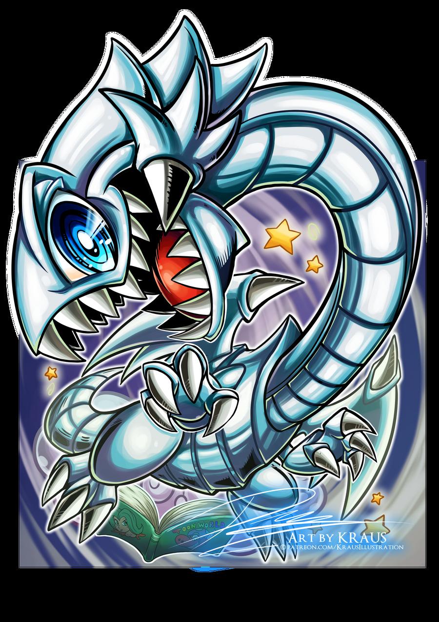 Blue Eyes Toon Dragon 2020 By Kraus Illustration On Deviantart Yugioh Monsters Yugioh Yami Illustration