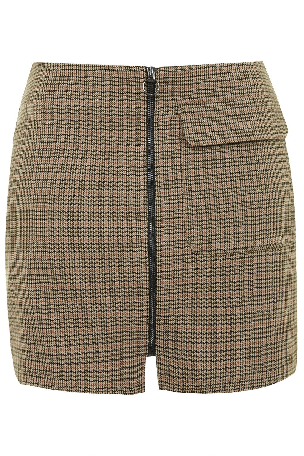 Checked A-Line Skirt - Sale - Sale & Offers | Topshop, Topshop ...