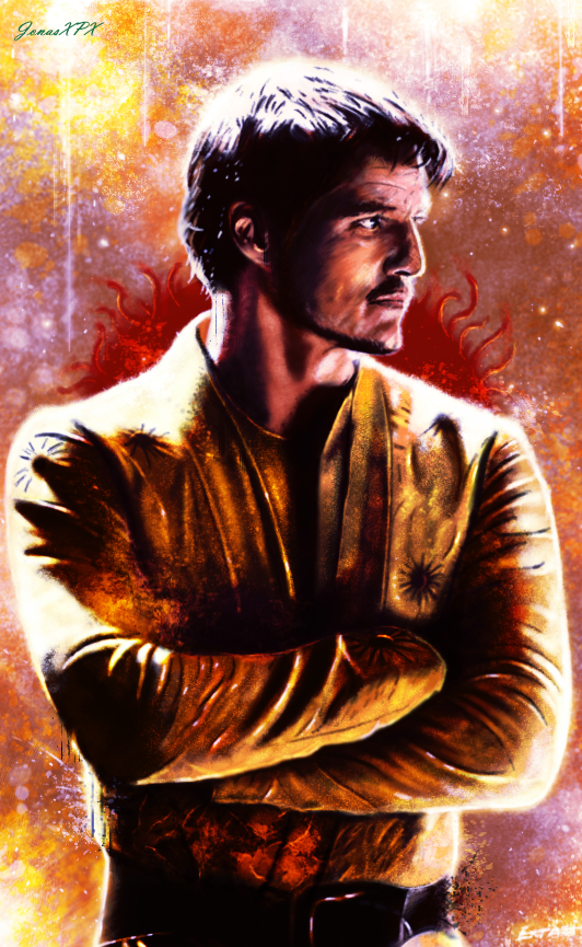 Game Of Thrones Oberyn Martel by JonasXPX