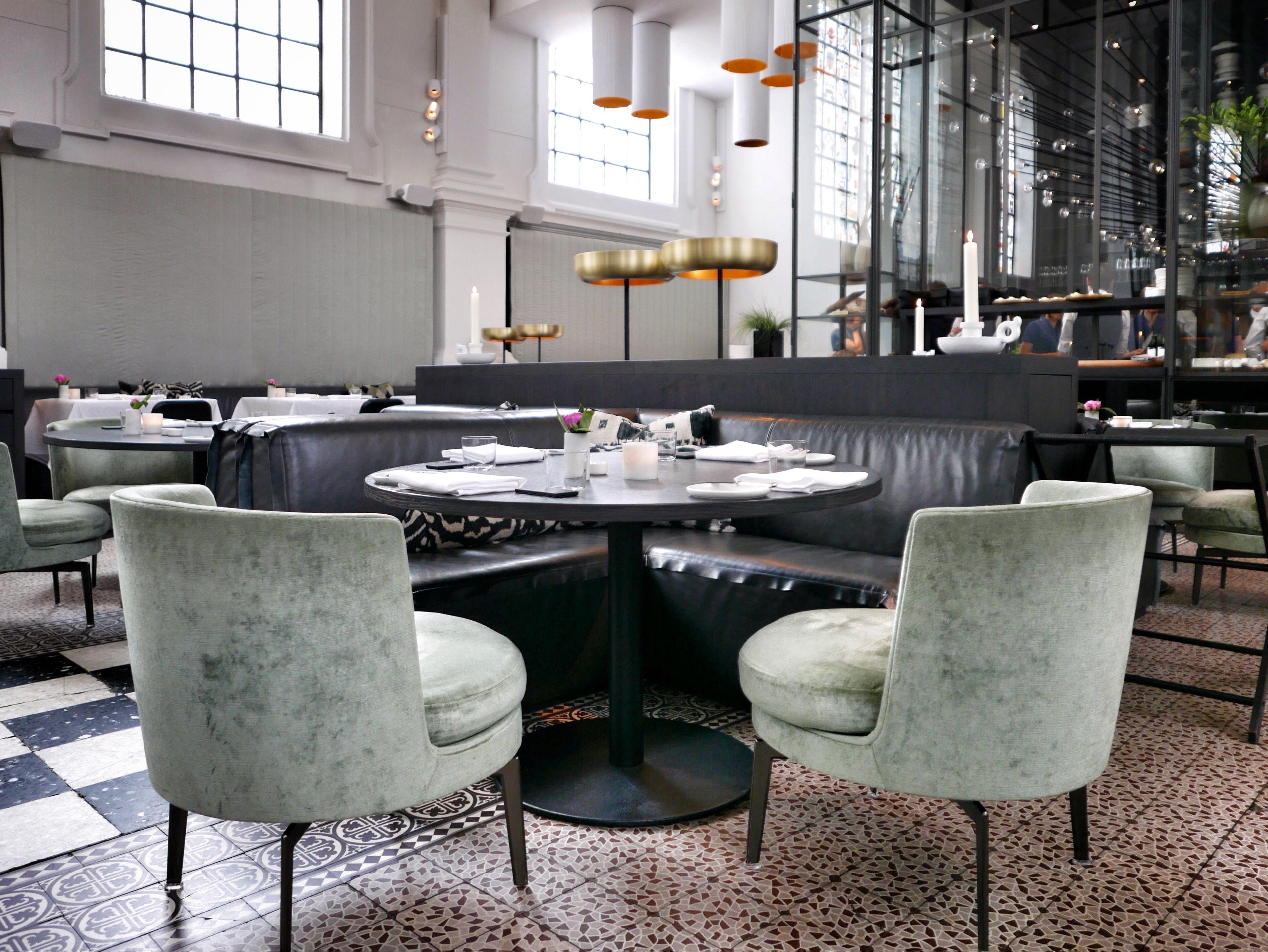 The Jane Antwerp Cafe Interior Jane Restaurant Furniture Design