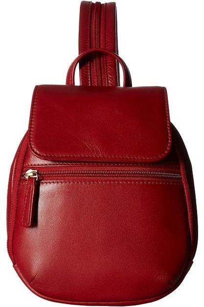 Scully Emma Backpack (Red) Backpack Bags furLTjz7