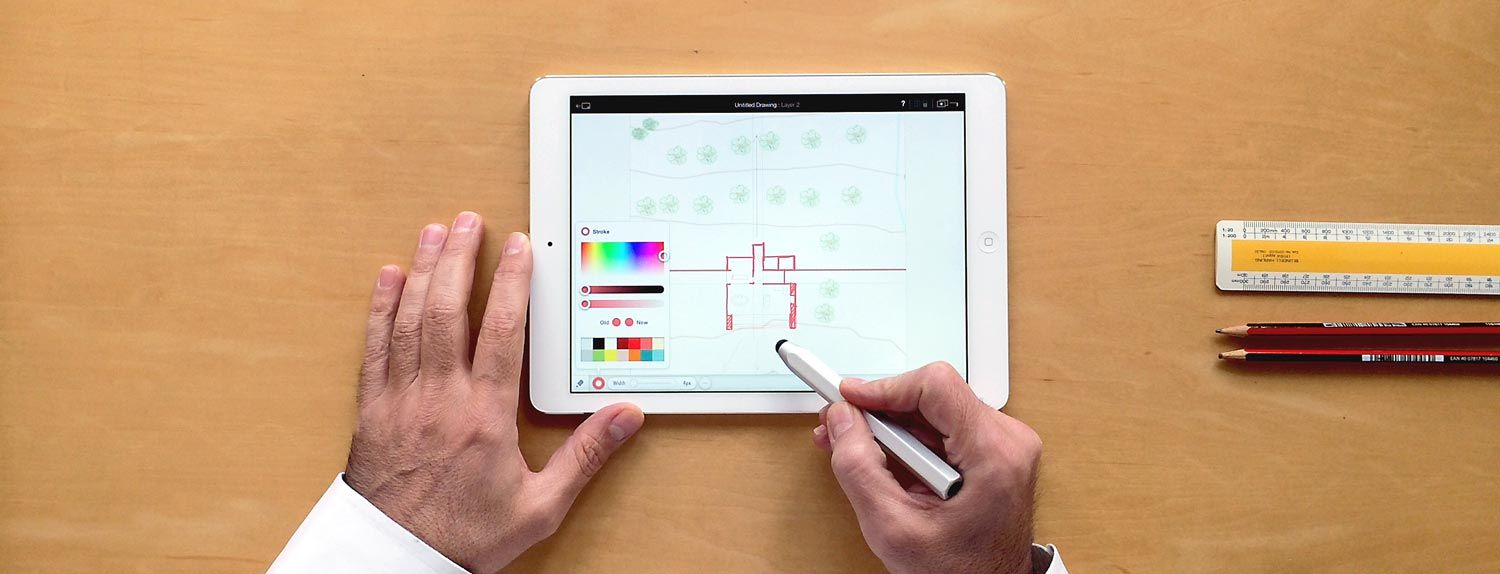 Archipad Sketch And Doodle To Scale On Your Ipad App Design Ipad Interior Design Apps Business Design