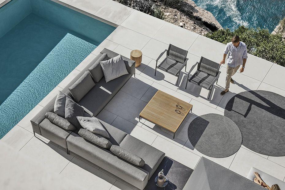gloster outdoor lounge grid m belwerk wien inspirierte m bel f r drinnen und drau en in
