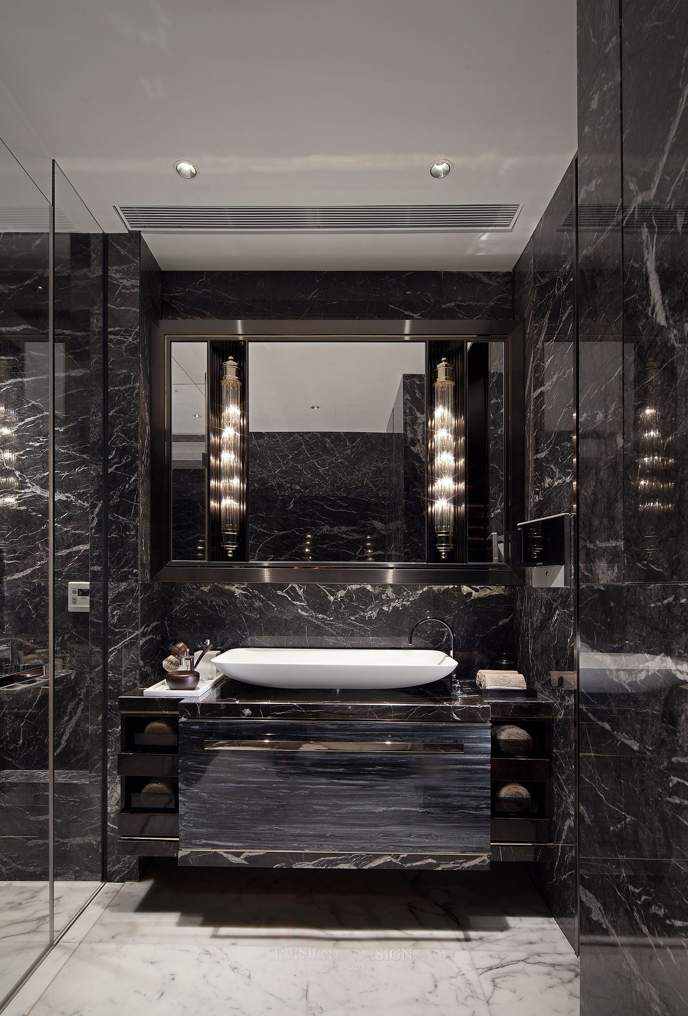 Luxury Bathroom. Elegant Interior Designs - Pinterest: Crackpot Baby ...