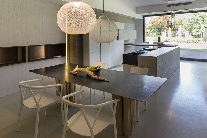 Kitchen design and furniture from our showroom italy for Ometto arredamenti