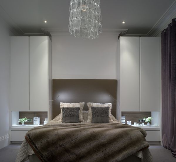Simple Elegant Bedroom: Elegant White Bedroom Wardrobes & Furniture From