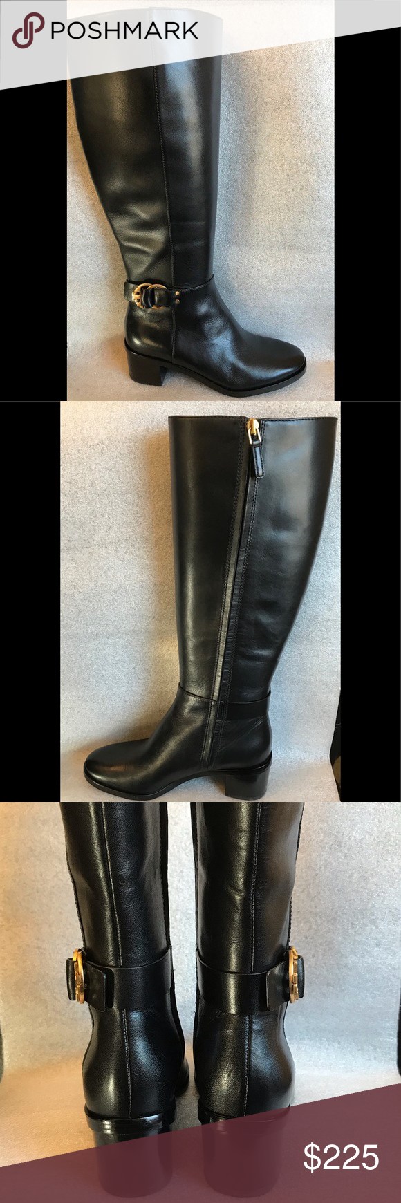 7bac5198375 Tory Burch Marsden Boot PERFECT BLACK LEATHER