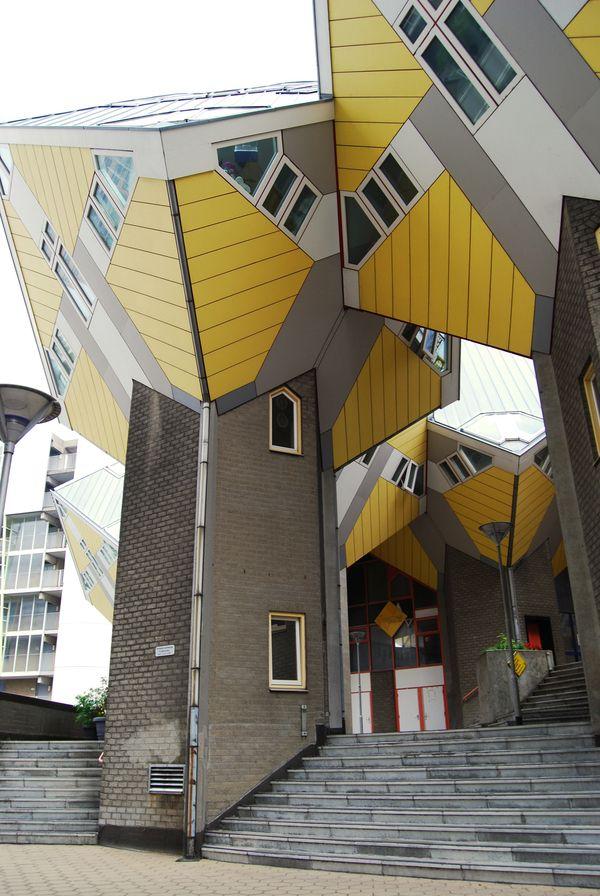 Cubic houses of rotterdam information informative photography architecture arquitectura - Arquitectos de interiores famosos ...