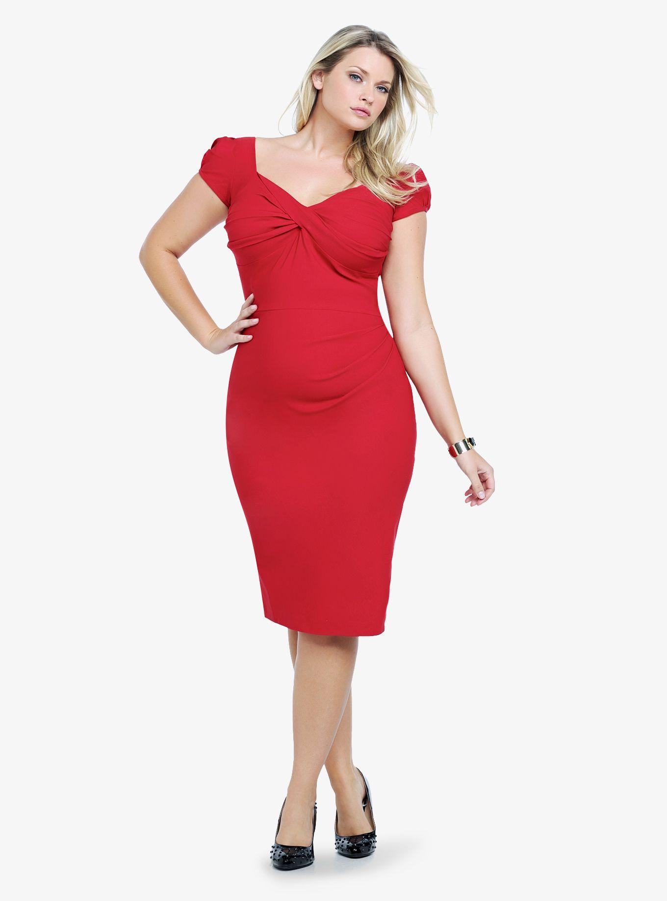 e776bdf21b4 This red dress is SOO stunning!  HaveATorridAffair