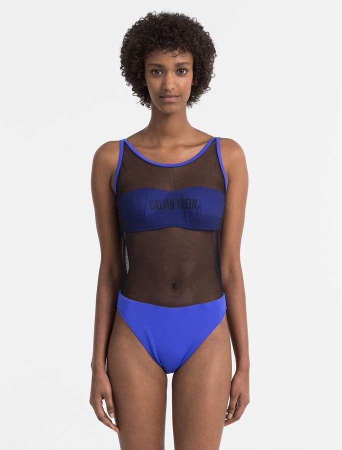 Calvin Klein intense power one-piece swimsuit  dea097d1201