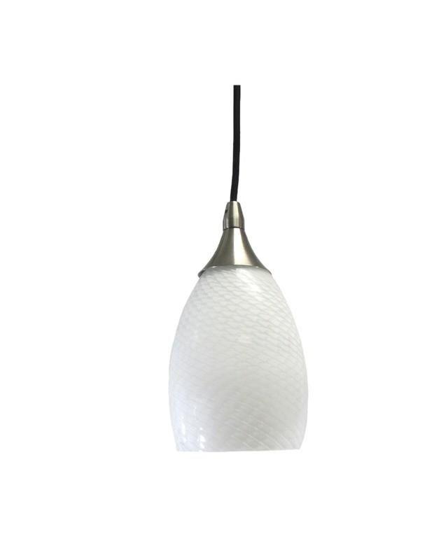 Epiphany Lighting Pcp206 Bn One Light Mini Pendant In Brushed Nickel