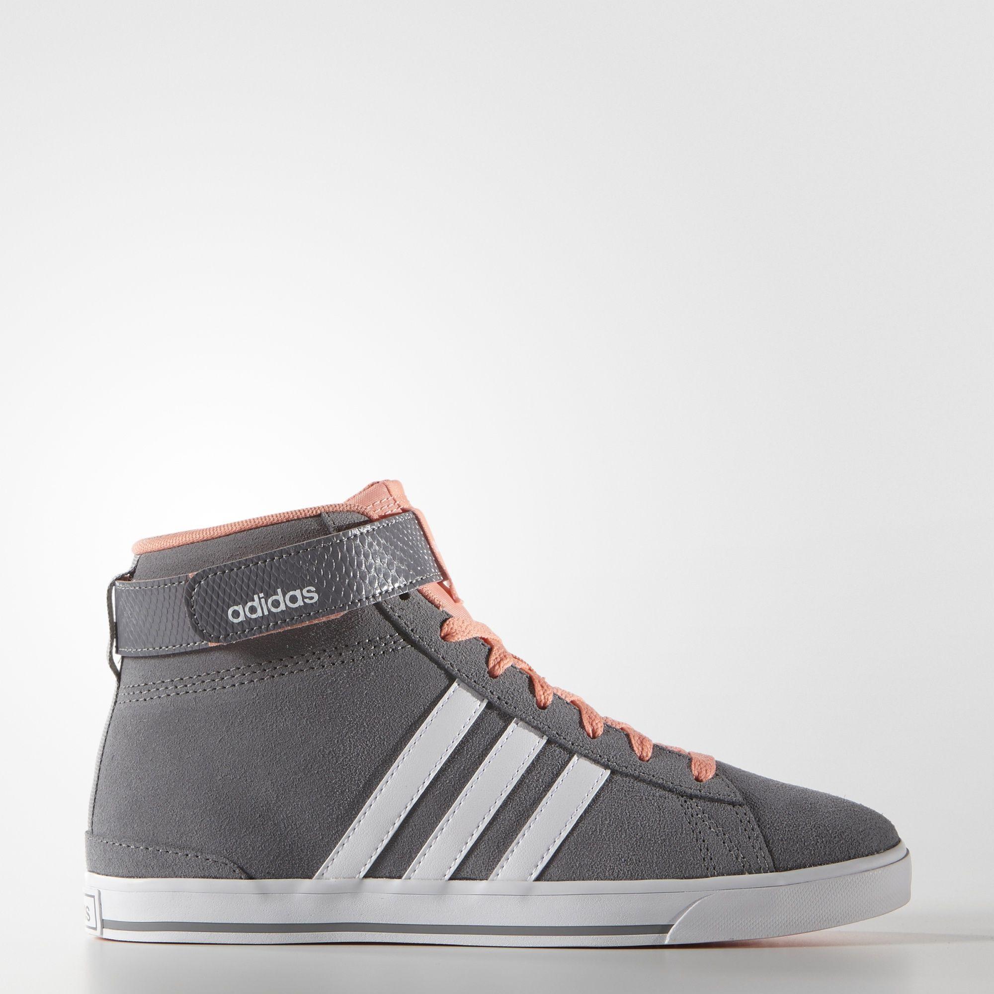 Adidas Neo Womens Bb Neo Daily Twist Mid Trainers Black