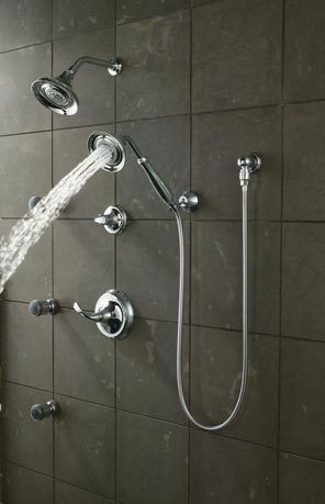 By Adding A Diverter Valve To Your Shower You Can Choose Between A