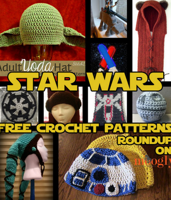 Star Wars Crochet Patterns Free Tutorial Ideas | Patrones, Croché y ...