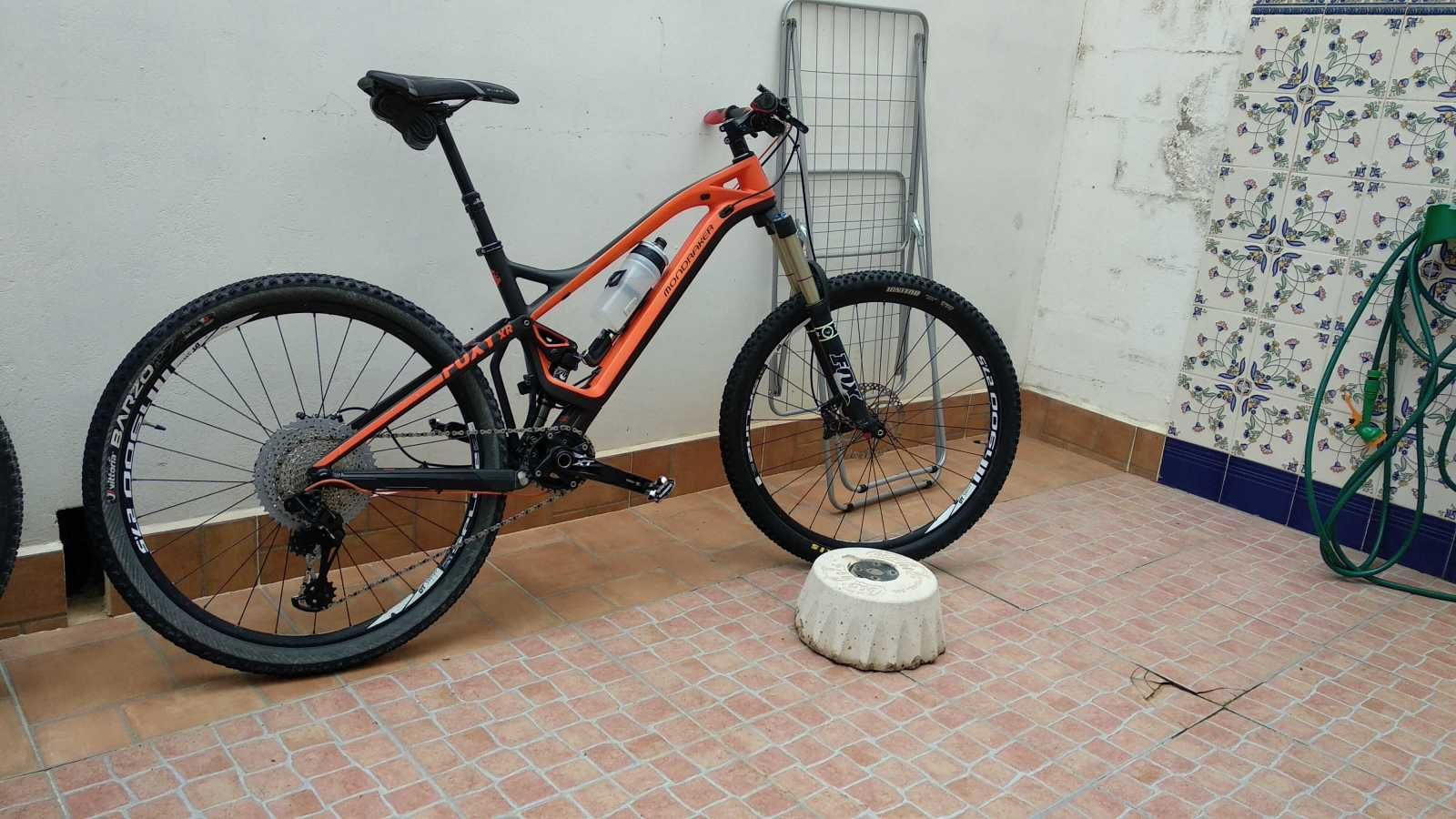 Bicicleta De Montaña Mondraker Foxy Carbon Xr Ref 37420 Talla M Año 2014 Cambio Sram Gx Cuadro De Carbono Bicicletas Bicicletas De Montaña Bicicletas Mtb