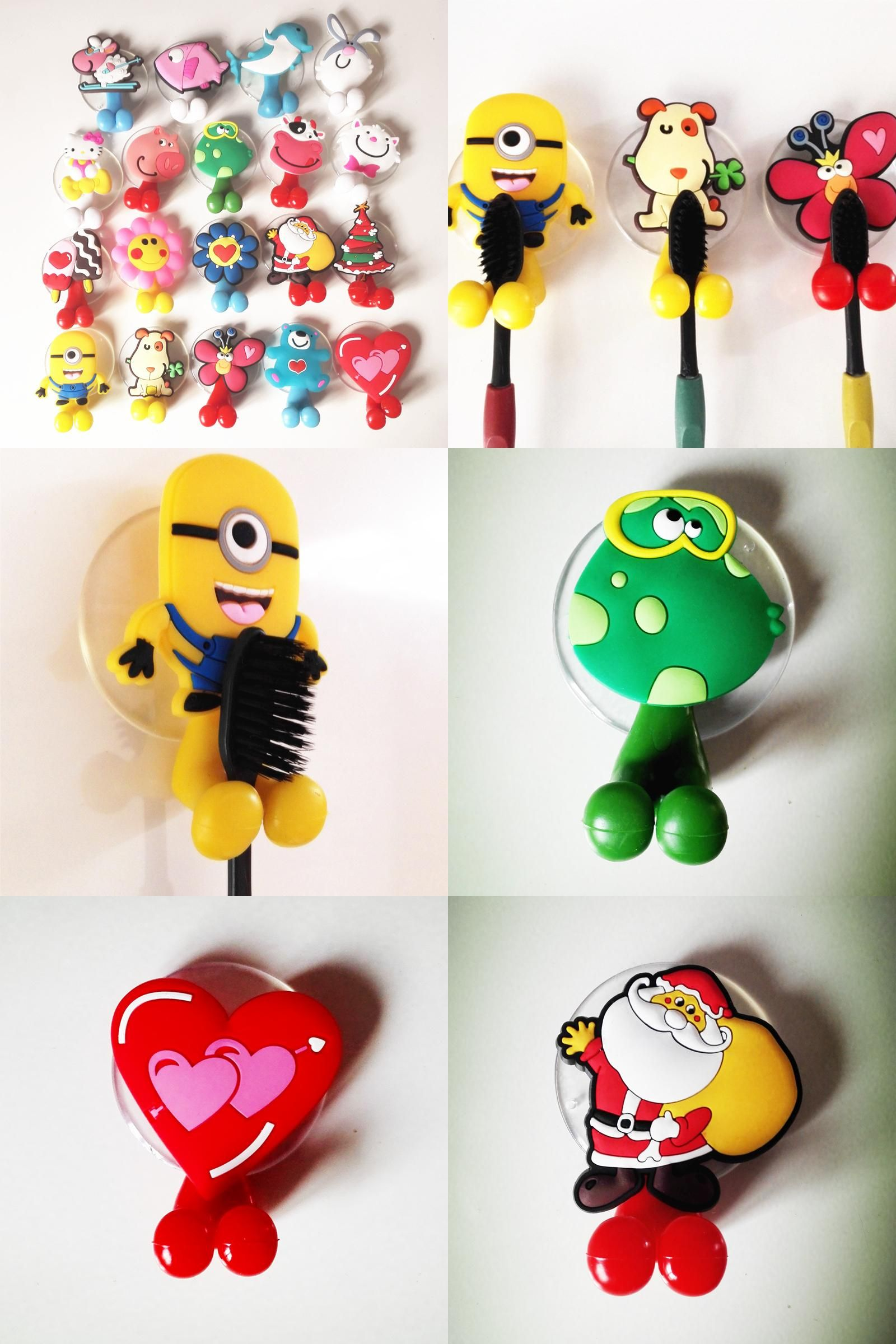 Visit To Buy Animal Cute Minion Hello Kitty Cartoon Suction Cup