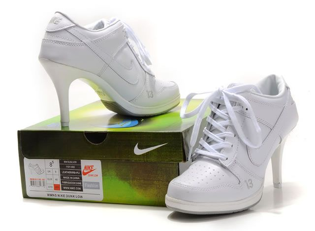 For The Bride That Can T Part From Her Tennis Shoes O Women Nike High Heel Sneaker Boot 28