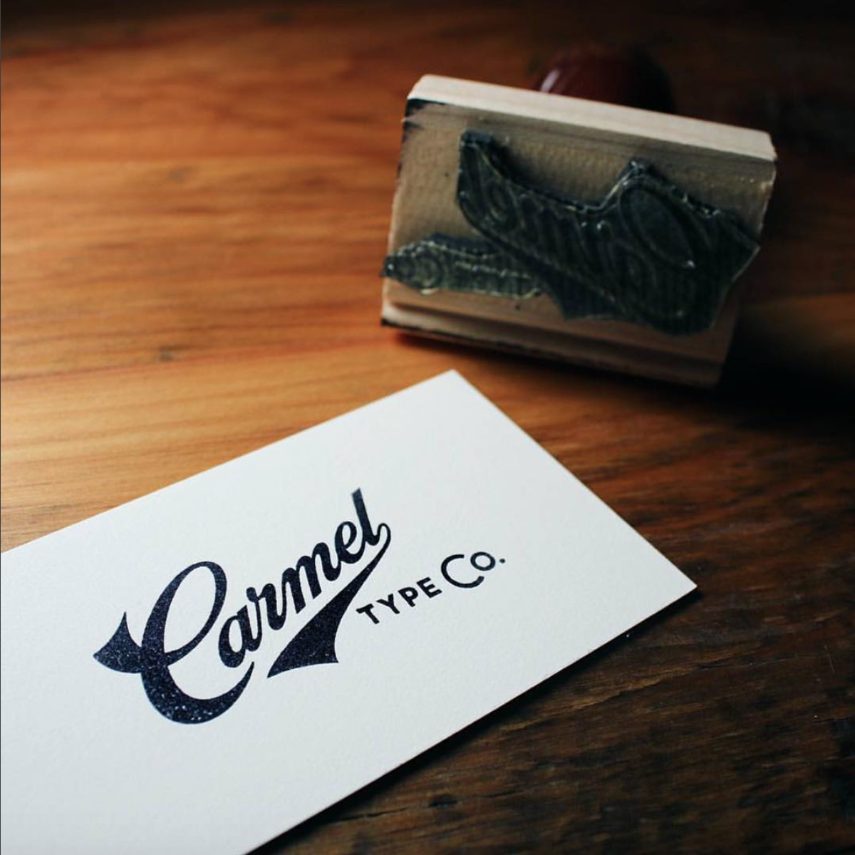 Custom business cards are easily made with our stamps! Thanks ...