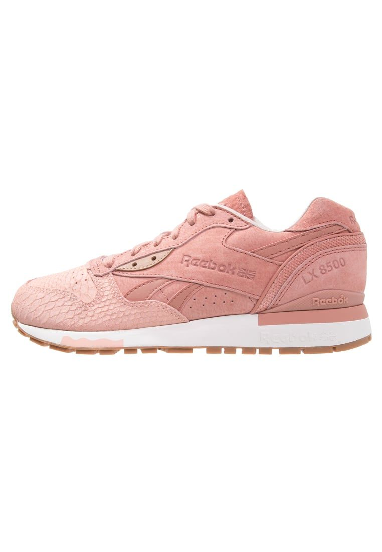 Femme Reebok Classic LX 8500 EXOTICS - Baskets basses - clay/stone/chalk  corail