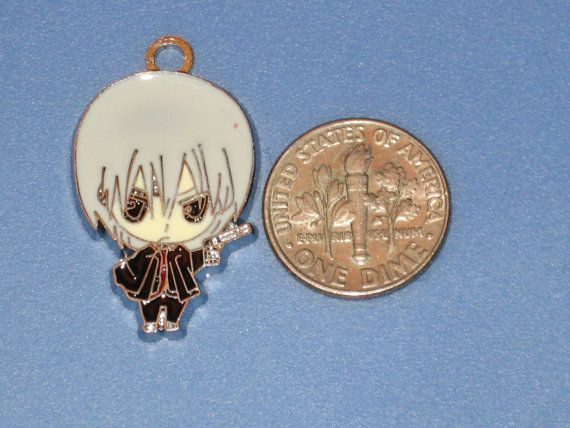 Vampire Knight  Zero Kiryuu Anime Charm Made by CharmCreativity