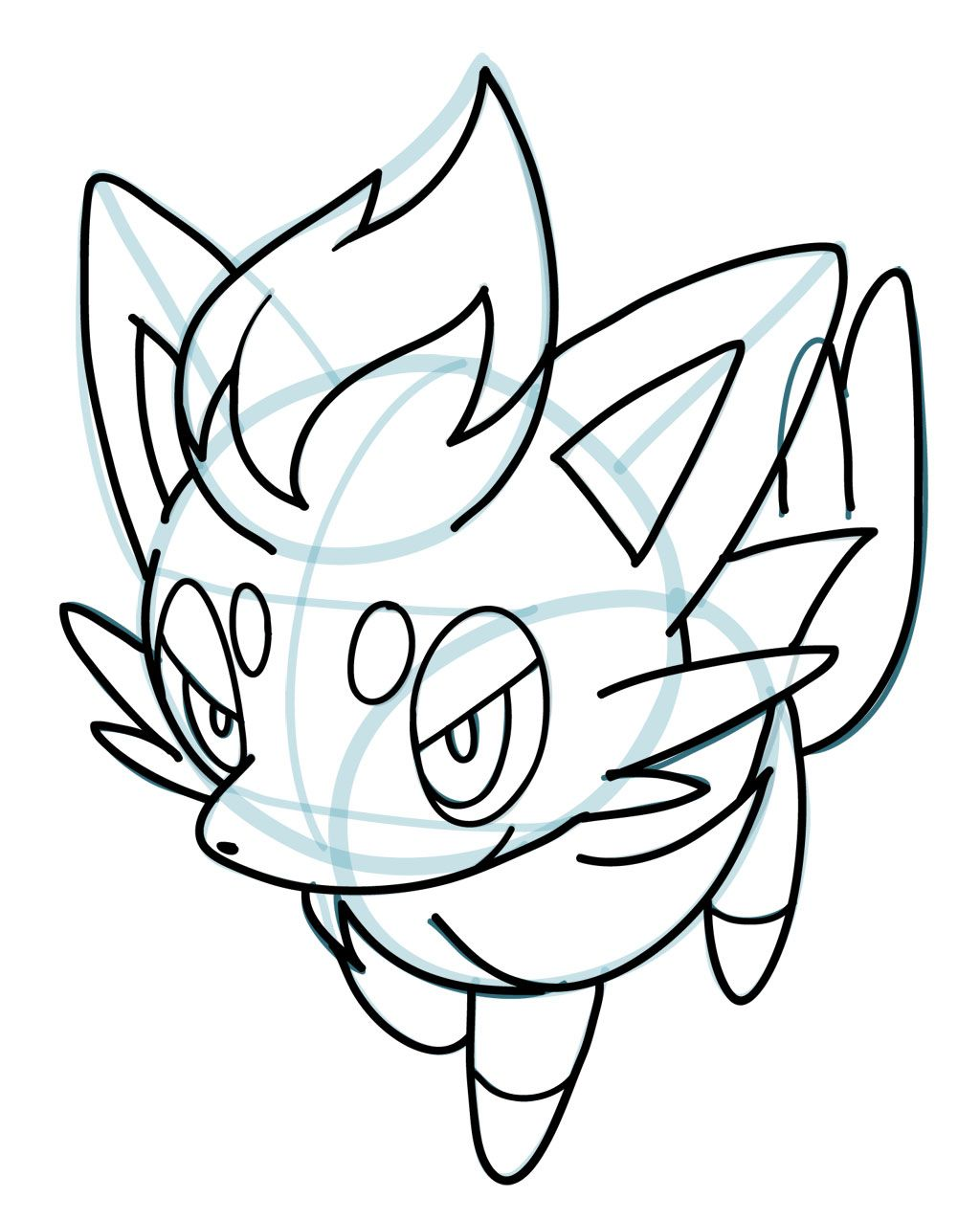 Uncategorized How To Draw Pokemon Pictures how to draw zorua pokemon manga 3d drawing tips 3d