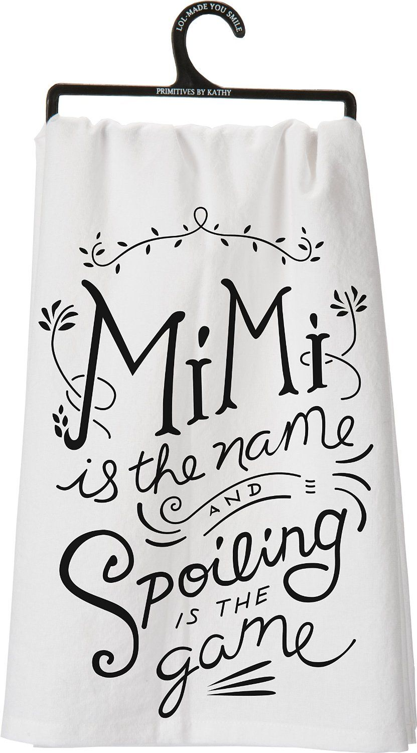 Mimi is the name and Spoiling is the game <3 #giftsforgranparents ...