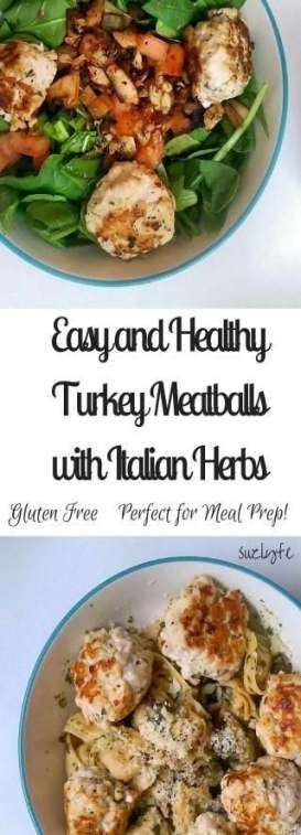 Fitness Meals Prep Turkey Meatballs 61+ Ideas #fitness