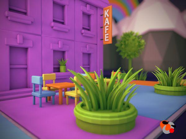 Toy City on Behance