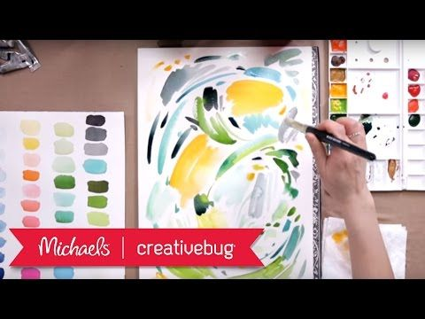 How To Paint With Watercolors Class Preview Michaels
