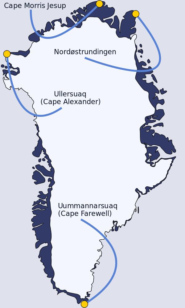 Cape Morris Jesup Wikipedia Greenland, Newfoundland
