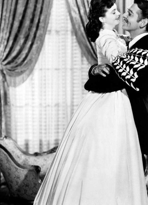 gone with the wind #vivien leigh #clark gable