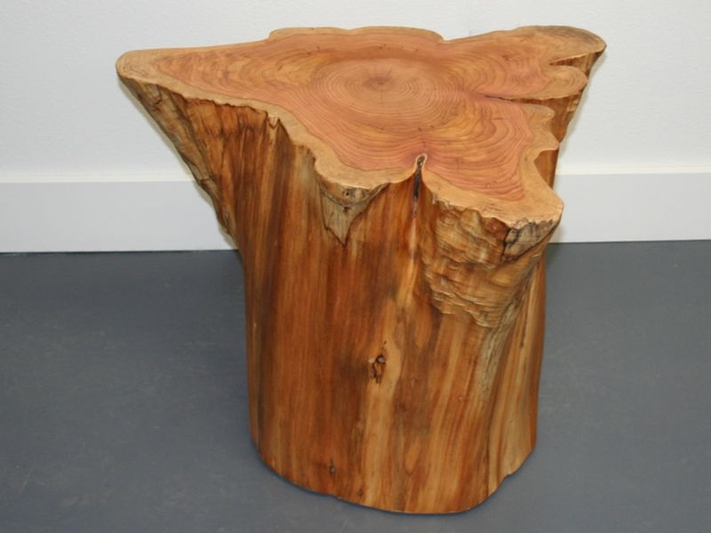Image Result For Tree Stump Furniture Diy